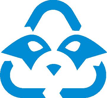 Recycling Raccoon Squad Logo
