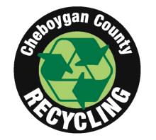 Cheboygan County Recycling logo